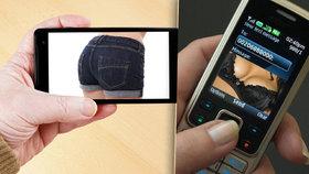 Posíláte mobilem svoje erotické fotky? Hrozí vám vydírání, takhle se můžete chránit