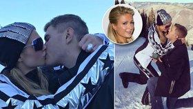 Šťastná Paris Hilton: Zásnuby s mladším přítelem na horách!