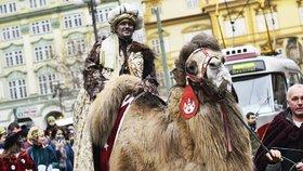 Město změní pořadí tří králů. Tmavý Baltazar půjde kvůli podpoře migrantů první