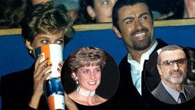 Zpověď zpěváka George Michaela ze záhrobí: Diana mě milovala!