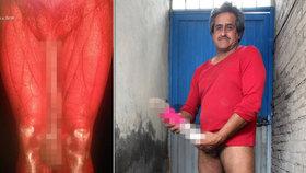 Muž s půlmetrovým penisem je podvodník: Jeho lež má o dost kratší nohy!