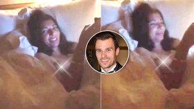 Mareš si vyfotil nahou Koblížkovou, která fotku zveřejnila. Páni!