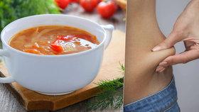 Speciální dieta vám pomůže shodit nechtěná kila: Tukožroutská polévka zvládne zázraky!