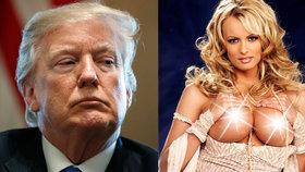 Pornohvězda chtěla o sexu s Trumpem promluvit pod přísahou. Nedali jí slovo