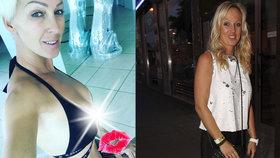 Belohorcová opět dráždí: Z plavek se jí draly ven silikony!
