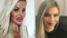 Kačeří zobák Kucherenko téměř bez make-upu: Poznali byste to?