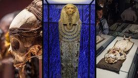Poprvé v Evropě: Mrtví vyprávějí příběhy na unikátní výstavě Mumie světa