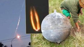 Tajemné koule v poli vyděsily vesničany: Spadly z nebes!