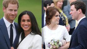 Museli ustoupit Harrymu a Meghan! Termín svatby princezny Eugenie odtajněn