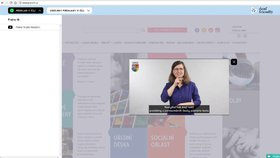 Vychytávka pro neslyšící z Prahy 10: Radnice zavedla videopřeklady webu ve znakovém jazyce