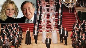 Vídeňský Ples v Opeře: Opulentní zábavu si nenechala ujít ani Melanie Griffith
