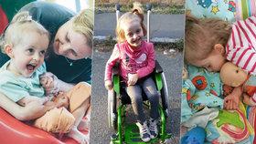 Adélka (5) trpí vzácnou nemocí: Maso, vejce a mléko jsou pro ni jako jed