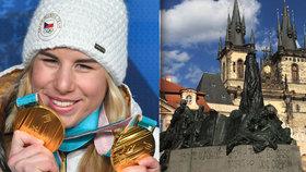 Praha přivítá olympioniky v čele s Ester Ledeckou. Oslava proběhne na Staroměstském náměstí