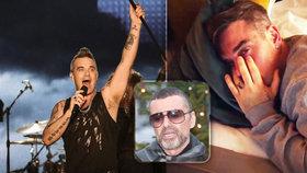 Zpěvák Robbie Williams: Mám v hlavě nemoc, která mě chce zabít jako George Michaela!