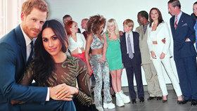 Velké svatební tajemství je venku: Princ Harry si na svatbu objednal Spice Girls!
