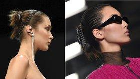 Devadesátkové trendy ve vlasech: Opět jsou v módě skřipce, čelenky a sponky