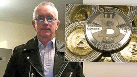 """Podvodníci, kam se podíváš, hodnotí profesor ekonomie """"výkyvy nálad"""" bitcoinu"""