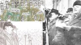 Jak dnešní děti vnímají komunismus? Nakreslily působivé ilustrace, ze kterých mrazí!