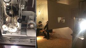 Rarita filmového muzea v Praze: Milovníci filmu v něm najdou promítačku na kličku