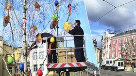 Barevné pentle zaplavily náměstí Republiky: Velikonoční trhy odstartovaly. Za kolik tu nakoupíte?