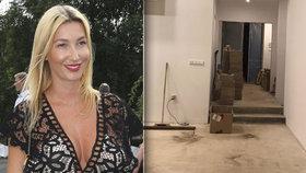 Silikonová sexbomba Mesarošová ukázala nové bydlení: To je staveniště!