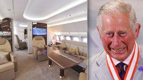 Postel i vlastní záchodové prkénko! Královské rozmary prince Charlese (69) na cestách