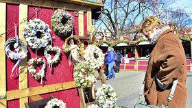 Tradiční Velikonoce na Míráku: Trhy nabízejí kraslice i pomlázky, uspokojí i hladové žaludky