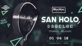 Report: San Holo v Praze válel a předvedl, proč je future bass hudebním žánrem budoucnosti