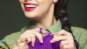 Nový výzkum ukázal, že pletení vás zbaví stresu, úzkosti i deprese! Víte proč?
