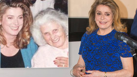 Francouzská herečka Catherine Deneuve (74) o receptu na věčný půvab: Mamince je 106 let!