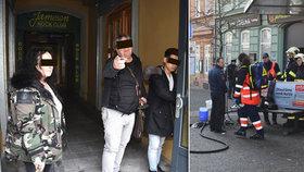 Kyselinový útok v Plzni: Žena chtěla rváče uklidnit, polila je čističem se žíravinou