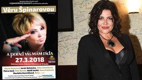Csáková odjela na vzpomínkový koncert Věry Špinarové v horečkách: Riskuje vlastní zdraví!