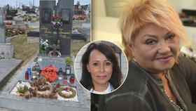 Heidi Janků o opuštěném hrobě Věry Špinarové (†65): Nepůjdu tam!