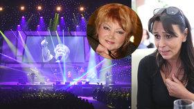 Kolaps na vzpomínkovém koncertě pro Špinarovou: Byl to mrazivý vzkaz, řekla Janků