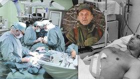 Josef (71) žije již 35 let s cizími játry: Operaci podstoupil jako první v Československu