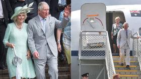 Královská návštěva vyjde Australany pěkně draho, za Charlesovy luxusní lety zaplatí miliony