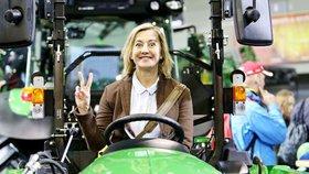 Vanda Hybnerová o své farmě: Provádí výzkum na ovcích!