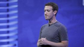 Tvůrce Facebooku se stal třetím nejbohatším mužem světa. Má 8,34 bilionu korun