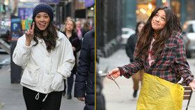 Zakrvácená Gina Rodriguez s nožem v ruce: Děsila kolemjdoucí uprostřed New Yorku!