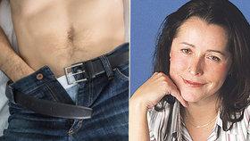 Muži místo vztahů masturbují u porna, děsí se sexuoložka Fifková