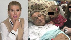 Manželka Jiřího Menzela Olga na tiskovce přiznala: Kolapsu předcházela osudová chyba!
