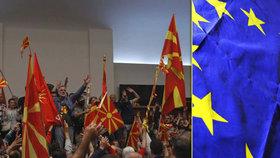 """EU na """"balkánské trase"""": Komise navrhla přístupová jednání s Albánií a Makedonií"""