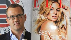 Křetínský koupil za 1,3 miliardy Elle a další časopisy. CMI vstupuje na trh ve Francii
