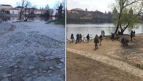 Více zeleně na nábřeží: Počítá se s revitzalizací parku Cihelná, přibudou stromy, růže i studna