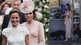"""Těhotná sestra Kate dostala veřejnou """"facku"""": Pippu vyrazili z obchodu!"""