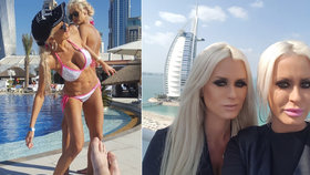 Opilá blonďatá dvojčata Alena a Saša napadla v Dubaji policistku. Sexy právničkám hrozí vězení