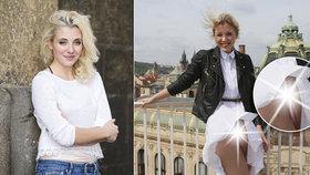 Slováčkovou svlékl vítr: Sukni jí zvedl k pasu a odhalil hodně!