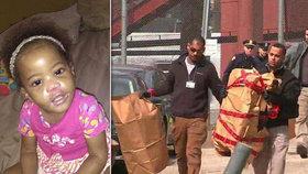 Mrtvolku holčičky (†2) našli v kufru. Rodina ji měsíce neviděla