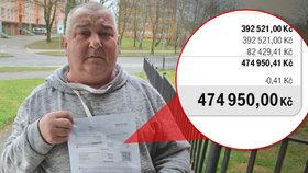 Účet za volání na půl milionu! Václav z Havířova málem dostal infarkt, operátor zaměnil adresáty