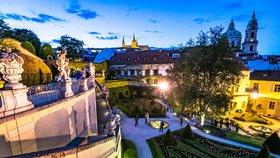 Historický skvost v Praze: Jedna z nejkrásnějších zahrad v Evropě!